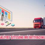 Nakliye Sitesi Evden Eve Nakliyat Şirketi Web Tasarımı SEO